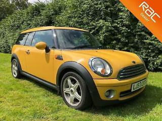 2007 MINI CLUBMAN 1.6 COOPER Manual in Yellow FSH
