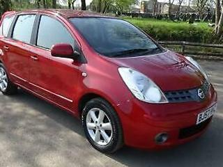 2007 Nissan Note 1.4 16v Acenta 5DR, IDEAL 1ST CAR, LOW INSURANCE