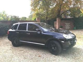 2007 PORSCHE CAYENNE TIPTRONIC Estate Black on Black 3.6L