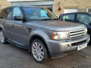 2007 RANGE ROVER SPORT 3.6 HSE TDV8 AUTOMATIC DIESEL GREY PX WELCOME
