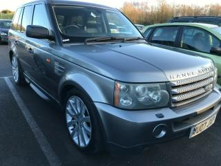 2007 RANGE ROVER SPORT 3.6 TDV8 HSE *VERY SMOKEY!* 12 STAMPS, REAR SCREENS