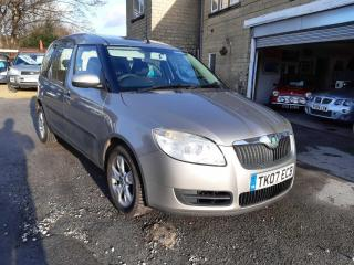 2007 SKODA ROOMSTER 2 16v 1.6 PETROL AUTOMATIC FSH PX WELCOME