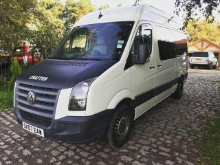 2007 VW Crafter 2.5 TDi 2 Berth Stealth Camper Van Expedition Adventure