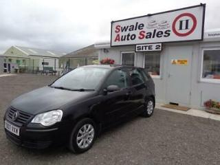 2007 VOLKSWAGEN POLO SE AUTOMATIC 1.4L ONLY 75,989 MILES FULL SERVICE HISTORY