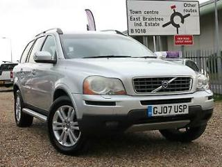 2007 Volvo XC90 2.4 D5 SE Lux 5dr Geartronic Diesel silver Automatic