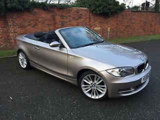 2008/08 BMW 125i Convertible 3.0 SE Manual 23000 Miles,BMW+1 Lady Owner