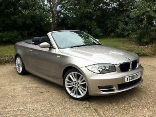 2008/08 BMW 125i Convertible 3.0 SE Manual 26000 Miles