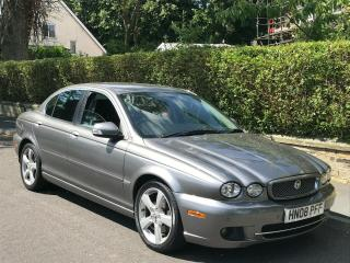 2008/08 JAGUAR X TYPE SE AUTO DIESEL LOW MILES 59k FSH IMMACULATE CONDITION