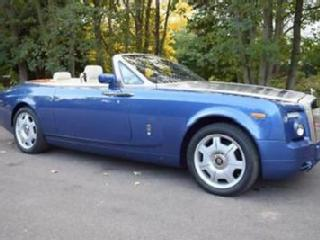 2008/58 Rolls Royce Phantom Drophead Coupé in Metropolitan Blue Metallic