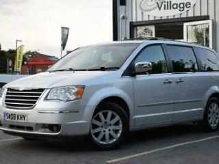 2008 08 CHRYSLER GRAND VOYAGER 2.8 CRD LIMITED 5D AUTO 161 BHP DIESEL