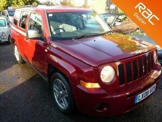2008 08 JEEP PATRIOT 2.0 SPORT CRD 5D 139 BHP SERVICE HISTORY, HIGH SPEC DIESEL