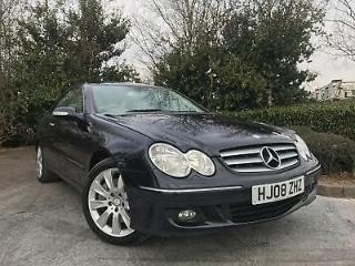 2008 08 Mercedes Benz CLK320 CDI 7G Tronic Elegance 67,000 MILES IMMACULATE