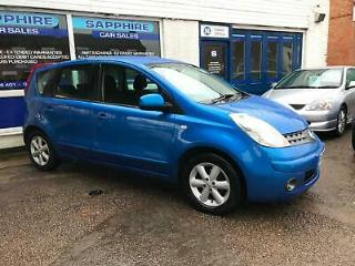 2008 08 NISSAN NOTE 1.4 ACENTA, LOW MILEAGE, LOW INSURANCE, 38K. BLUETOOTH