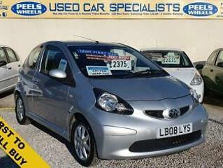 2008 08 TOYOTA AYGO 1.0 12V PLATINUM VVT I * IDEAL FIRST CAR * CHEAP TO INSURE