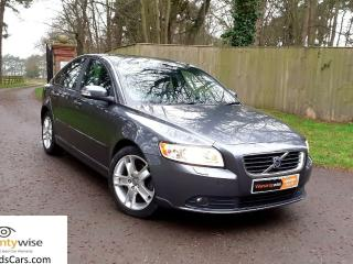 2008 08 Volvo S40 2.0 Diesel SE, Manual with full leather interior and FSH