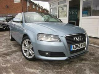 2008 58 Audi A3 Cabriolet 1.8TFSI S Tronic Sport WOW! GREAT VALUE! LOOK!