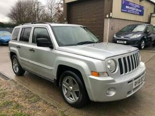 2008 58 JEEP PATRIOT 2.4 LIMITED 5D 168 BHP