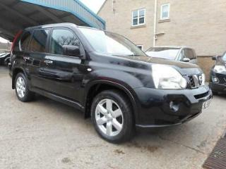 2008 58 Nissan X Trail 2.0dCi 170 Aventura Diesel Manual Black
