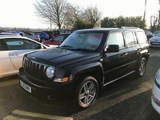 2008 58 Reg Jeep Patriot 2.0CRD Sport 4x4