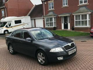 2008 58 SKODA OCTAVIA 1.9 TDI PD ELEGANCE DIESEL MANUAL GREY 5 DOOR HATCHBACK