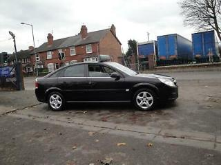2008 58 VAUXHALL VECTRA 1.8 LITRE EXCLUSIV IN METALLIC BLACK SERVICE HISTORY