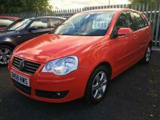 2008 58 VOLKSWAGEN POLO 1.4 MATCH 5D 79 BHP FULL SERVICE HISTORY LOW MILEAGE