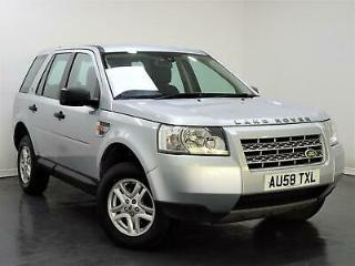 2008 and Rover Freelander 2 2.2 TD4 S PX SWAP FINANCE FROM £18pw
