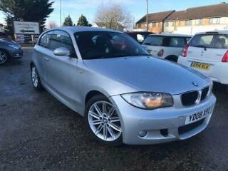 2008 BMW 1 Series 2.0 120i M Sport Hatchback 3dr Petrol Manual