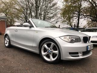 BMW 1 Series 2.0 120d ES 2dr 1 OWNER, LEATHER, WARRANTY 2008, 143983 miles, £2850
