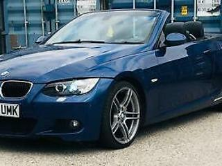 2008 BMW 320d M Sport Convertible UPGRADED ALLOYS AND LED ANGELS