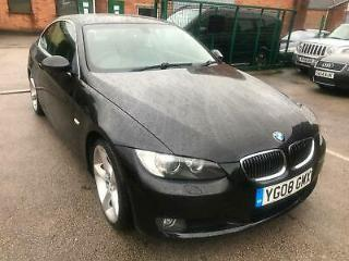 2008 BMW 325 3.0TD SE DIESEL COUPE FULL LEATHER BLACK