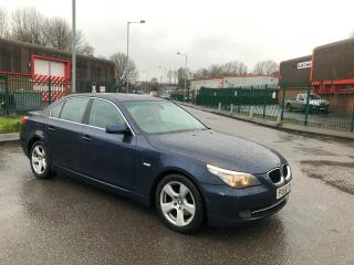 2008 BMW 520D SE AUTO NEW CHAIN KIT AND FULLY SERVICED £1200 FLL SERVICE HISTORY