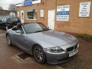2008 BMW Z4 2.0i SE Convertible CONVERTIBLE Petrol Manual