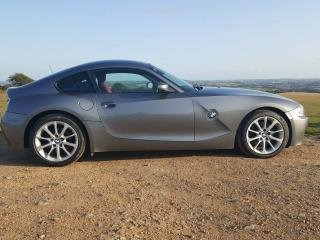 2008 BMW Z4 3.0si coupe E86 space grey with red leather, low mileage CORNWALL