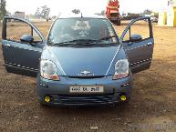 Blue 2008 Chevrolet Spark 1.0 BS III 78055 kms driven in Bahatari Road