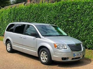 2008 Chrysler Grand Voyager 3.8 automatic [2008 58] [Left hand drive] MPV Petrol