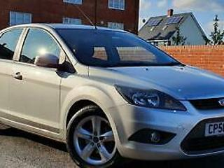 2008 Ford Focus 1.6 Zetec 5DR+Manual+Silver