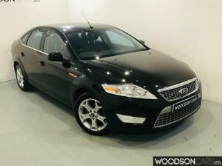 2008 Ford Mondeo 2.0 Petrol Titanium in Black with Full Ford Service