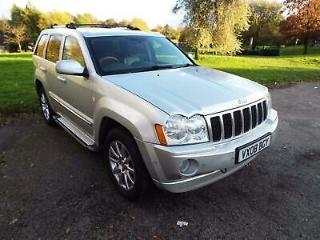 2008 Jeep Grand Cherokee 3.0 CRD V6 Overland 4x4 5dr
