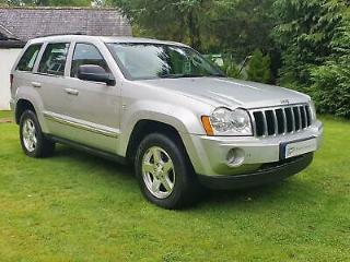 2008 Jeep Grand Cherokee 3.0CRD 215bhp 4X4 Auto Limited