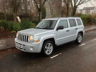 2008 Jeep Patriot 2.0 CRD Limited 4x4 5dr
