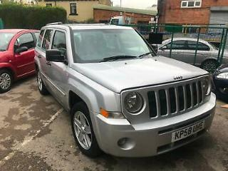 2008 Jeep Patriot 2.0CRD Limited 4X4 DIESEL 5 DOOR FULL BLACK LEATHER