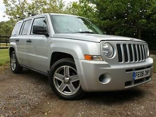 2008 Jeep Patriot 2.4 Sport 4x4 5dr SUV Petrol Manual