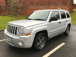 2008 Jeep Patriot 2.4 Sport, Silver, Petrol, Heated Leather, Low Mileage