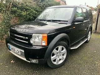 2008 LAND ROVER DISCOVERY 3 2.7TD V6 HSE AUTOMATIC SAT NAV PLUS TV