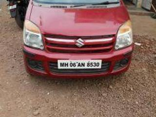 Red 2008 Maruti Suzuki Wagon R LXi BS III 87000 kms driven in Khed