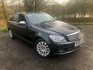 2008 Mercedes Benz C Class 1.8 C180 Kompressor Elegance Saloon 4dr Petrol Manual
