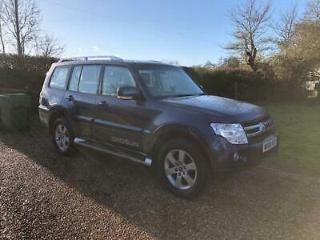 2008 Mitsubishi Shogun 3.2DI D Elegance Automatic, Only 44000 Miles From New !