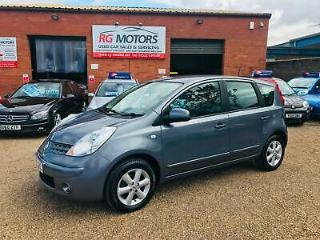 2008 Nissan Note 1.5 dCi 86ps Acenta Grey 5dr Hatch, *ANY PX WELCOME