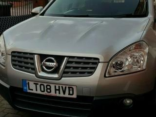 2008 Nissan Qashqai SUV 2wd Acenta 5 dr 1.5 dci 106 6 Speed